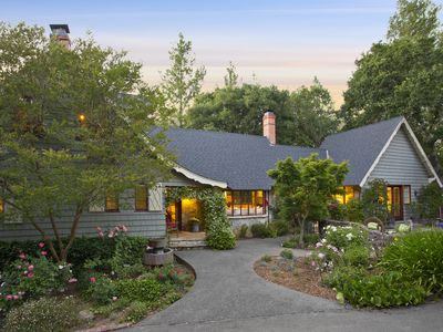 Photo for Enchanting Healdsburg Estate with Luxurious Pool and Lush Gardens