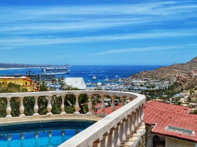 Photo for Casa Rosa - Bay View in Pedregal - 1/2 Mile from the Marina