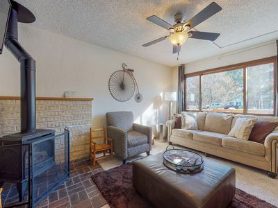 Photo for NEW LISTING! Family-friendly condo w/gas fireplace, shared pool & hot tubs