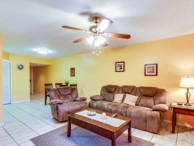 Photo for Family-friendly condo w/ shared pool - close to downtown & the beach