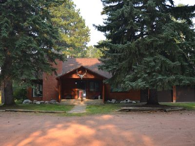 Photo for Large, Comfortable Cabin in Story, Wyoming w/ 969 ft. of Pristine Trout Stream!