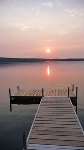 Photo for Beautiful Waterfront Cottage On North Pond In Maine's Belgrade Lakes Region
