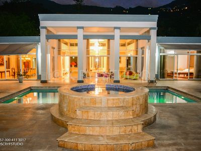 Photo for Mansion Private Pool, Hot tub can have functions weddings bachelor Parties