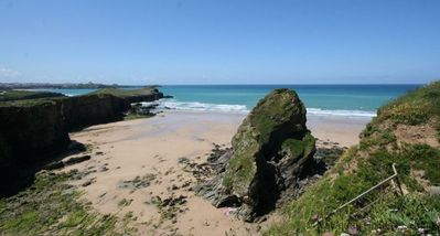 Photo for Majors retreat is a 2 bedroom apartment with incredible views of Porth beach