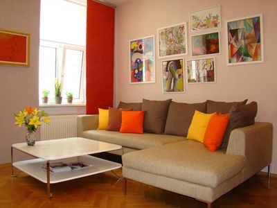 Photo for Apartment at the Kunsthaus - ART APARTMENT VIENNA
