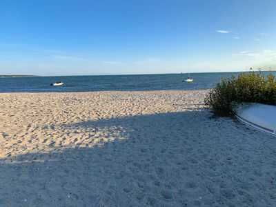 Photo for ✸Private Sandy Beach✸ Nantucket Sound, Steps to Beach, Walk to Harbor and Town