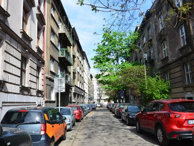 Photo for Spacious, nice apartment in the heart of Krakow with 2 balconies, 4-8 pers