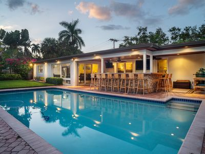Photo for Waterfront Oasis W/ Full  Boat Dock & Heated Pool
