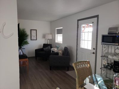 Photo for THE NEST is a serene space located in a quiet country RV park.