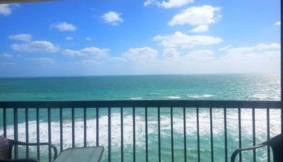 Photo for Stunning  Ocean Views from Top Floor Condo