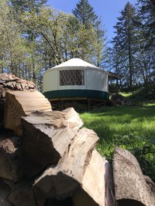 Photo for Luxury Wine Country Yurt Great for any Season