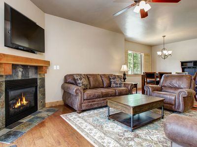 Photo for 2BR/2BA Spacious Park City Townhouse Steps from Pool & Hot Tub, Sleeps 6