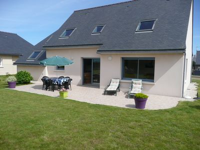 Photo for Quiet house with enclosed garden in Perros-Guirec on the pink granite coast