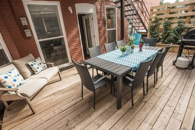 Your own private and cozy terrace, plus BBQ facilities!