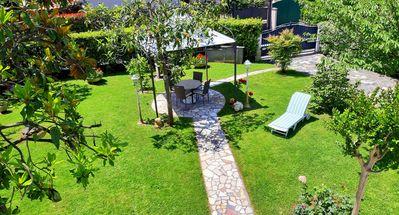 Photo for Forte dei Marmi villa with garden 400 meters from the sea. Ideal for families. Versilia