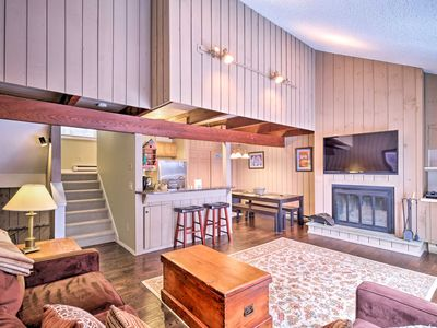 Photo for NEW! Mountainside Windham Townhome - Walk to Lodge