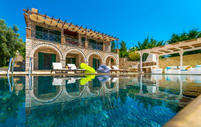Photo for Villa Emma, overlooking Sivota with endless views! On Special offer!!!