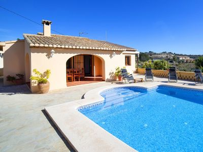 Photo for Beautiful private villa for 6 guests with private pool, WIFI, TV and parking