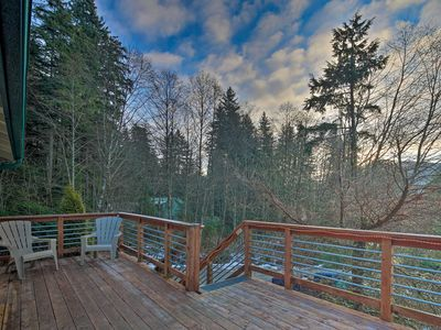 Photo for NEW! Cozy Juneau Apartment w/Fire Pit Near Fishing
