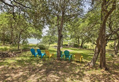 Gaze out at the shoreline of Canyon Lake and enjoy plenty of privacy.