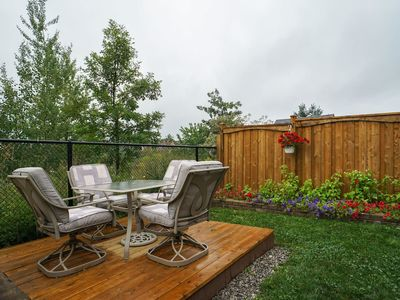 Photo for Near Yonge St. Beautiful Walkout Apartment + Pond View + Private Laundry