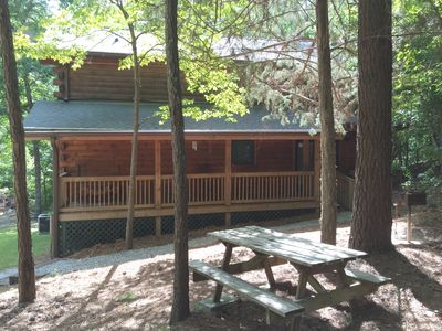 Lovely Log Home is surrounded by Roosevelt State Park & near Callaway Gardens!