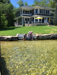 Photo for New Family Friendly Lakefront Home on Lake Winnipesaukee in Wolfeboro, NH