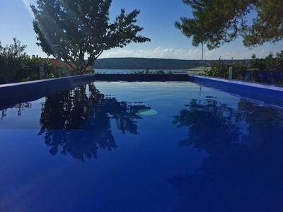 Photo for Large villa for 20 people with sea view pool