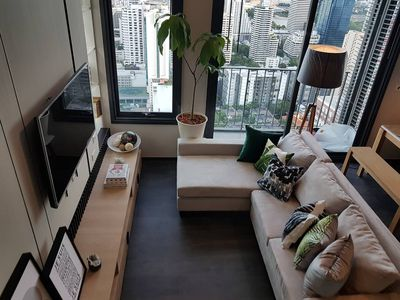 Photo for A penthouse living in Bangkok