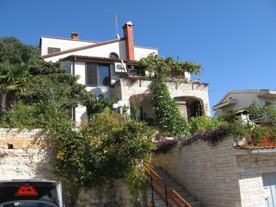 Photo for Holiday apartment with satelllite tv, large balcony and sea view