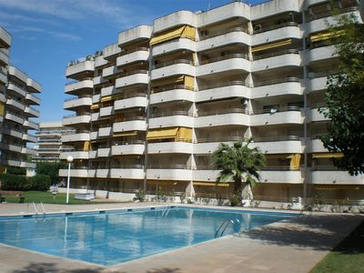 Photo for Holiday apartment with outdoor pool