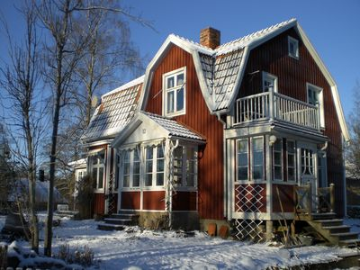Photo for a real Swedish house for the big family, about 10 people, 160 m / 2,