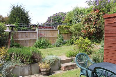 Upper Lawn in Back Garden (There is a clothes line if needed)
