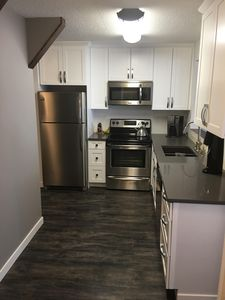 Photo for Freshly renovated family condo located in the Village