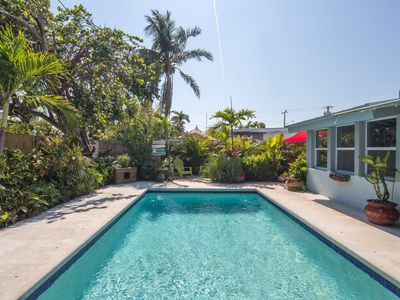 Photo for NEW LISTING! Dog-friendly home with private pool and great central location!