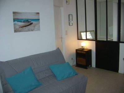 Photo for Dinard - jewel of the emerald coast in the heart of the city 2 rooms rénové- charm and authenticity guaranteed