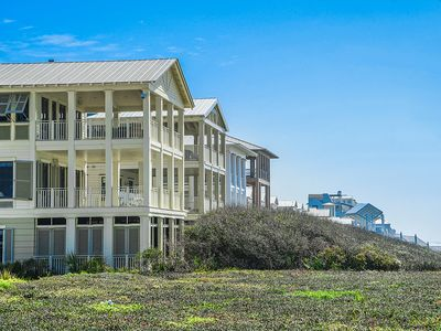 Photo for 4 Bedroom Gulf Front Home! Sleeps 10! In Seaside Proper!
