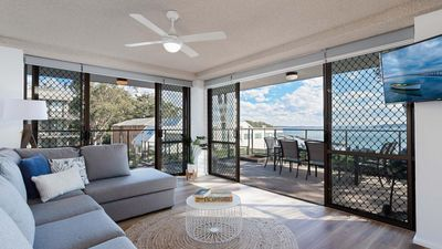 Photo for The Poplars, 1/36 Magnus St - panoramic water views, pool, aircon & WIFI