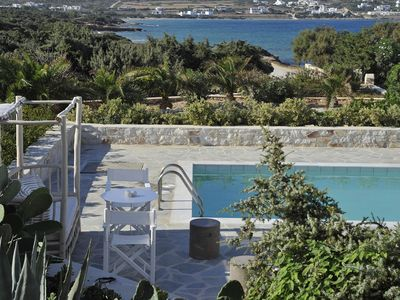 Photo for Villa Santa Maria 3, few meters from the beach, with 3 bedrooms and private pool.