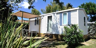 Photo for Camping le Marisol ***** - 3-room air-conditioned mobile home 4/5 people