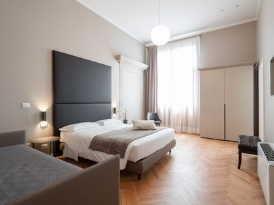 Photo for Room 110 - Hotel Palazzo Martinelli Dolfin - Rent for rooms for 3 people