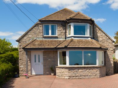 Photo for Fabulous 5-Bedroom House with Stunning Sea Views Nr Sandy Beaches Worth Purbeck