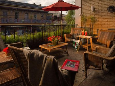 Photo for Suite near Bourbon Street w/ WiFi, Jetted Tub, Resort Courtyard, Pool & Hot Tub