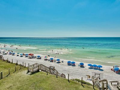 Photo for Private Beach.  Beautiful Beachfront condo sleeps 8.