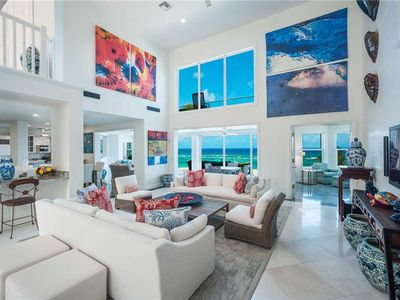 Photo for Great Bluff Estates: Luxury Villa with Pool, Cabanas, Multiple Decks & Great Snorkeling