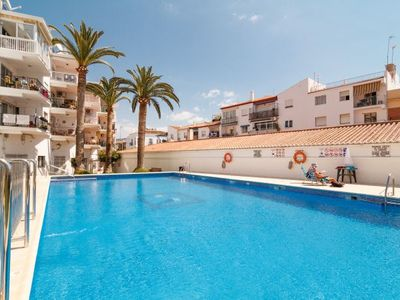 Photo for Nerja Apartment, Sleeps 4 with Pool, Air Con and WiFi