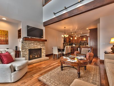 Photo for CDC Approved Cleaning! Luxe Deer Valley Townhome - Close to Everything + Hot Tub & Shuttle Access
