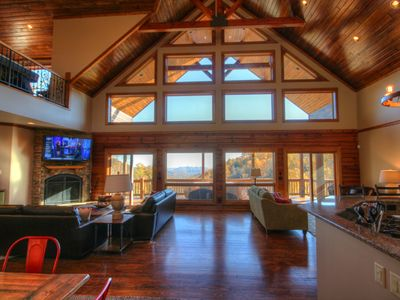Photo for 4BR, Mins to Boone, Blowing Rock, Parkway, Hot Tub, Pool Table, Expansive Views, Foosball, Shuffleboard