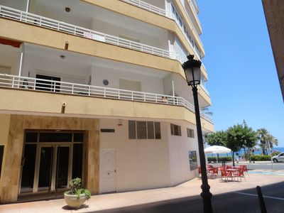 Photo for Beautiful apartment on the beach, between the center and the marina