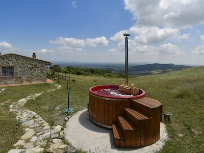 Photo for Your Own Private Tuscan Retreat with Stunning Views, Jacuzzi and Sauna